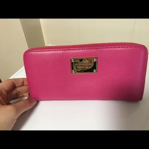 100% Authentic Michael Kors Hot pink long wallet